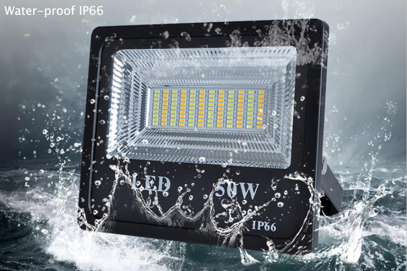Solar Light Projector 50W